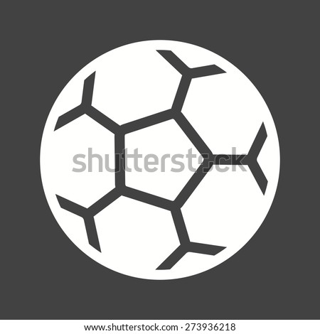 Football, ball, soccer, sports icon vector image. Can also be used for fitness, recreation. Suitable for web apps, mobile apps and print media. - stock vector