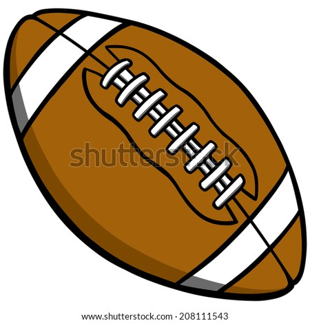 stock vector football cartoon 208111543