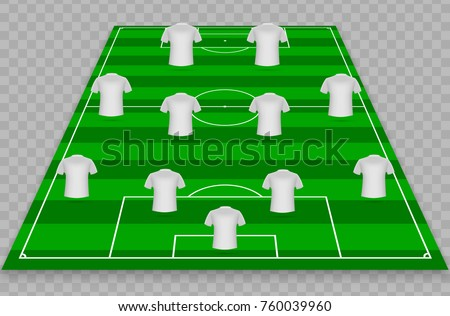 Squad stock images royalty free images vectors for Soccer starting lineup template