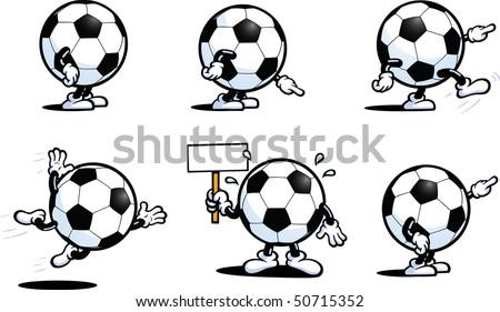 Football Guy Series One - stock vector