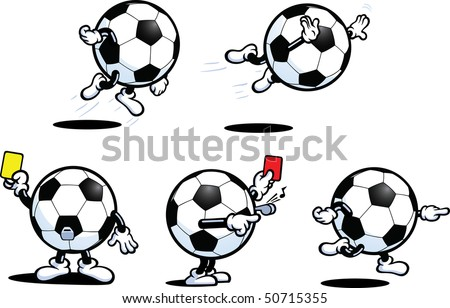 Football Guy Series Two - stock vector