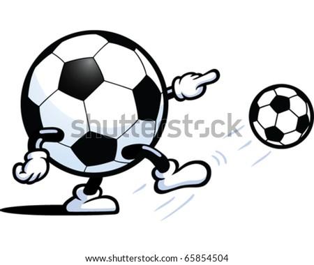 Football Man - stock vector