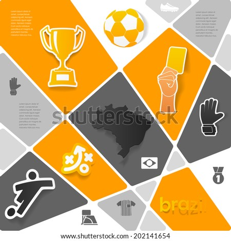 Infographic Ideas infographic soccer : Soccer Infographic Eps 10 Vector Design Stock Vector 157889864 ...