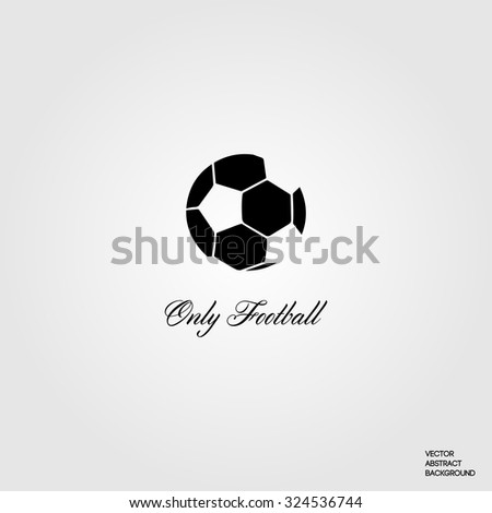 Football. Soccer player. Soccer ball. Sports. Soccer stadium. Only football. Football silhouette