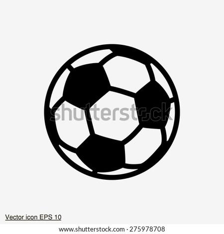 football vector icons - stock vector
