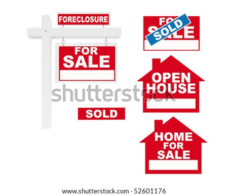For sale - stock vector