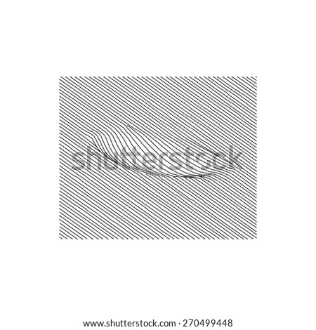 force touch technology - stock vector