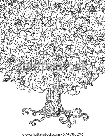 Nature Fall Landscape Coloring Pages To Download Also