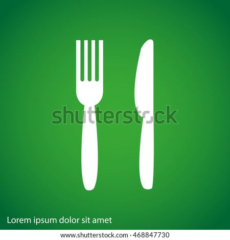 fork and knife sign