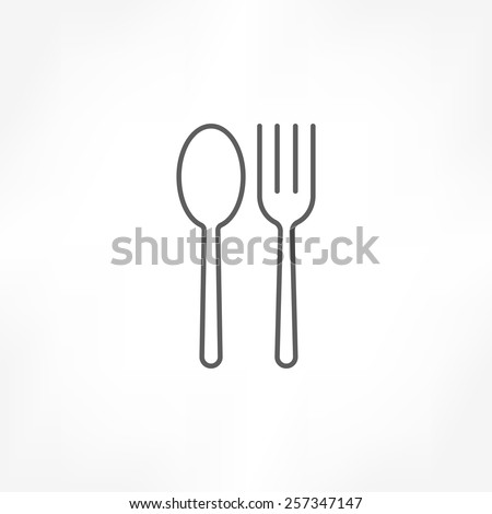 fork & spoon icon