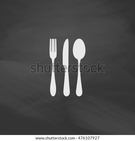 how to draw a simple fork