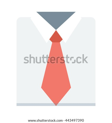 Formal Dress Vector Icon
