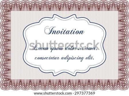 Formal invitation vector illustrationlovely design easy stock vector formal invitation vector illustrationlovely design easy to print stopboris Gallery