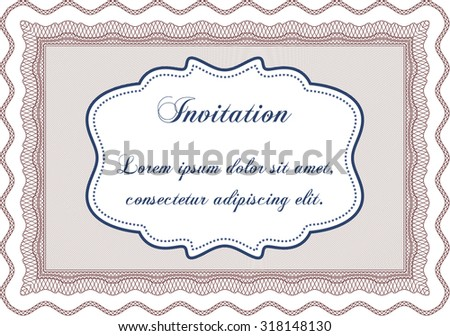 Formal invitation vector illustrationwith linear background stock formal invitation vector illustrationwith linear background excellent design stopboris Images