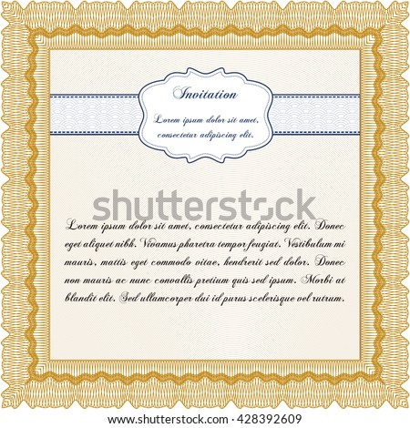Formal invitation background customizable easy edit stock photo formal invitation with background customizable easy to edit and change colors cordial stopboris Images