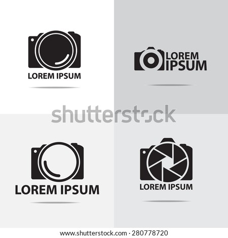 camera logo stock images royaltyfree images amp vectors
