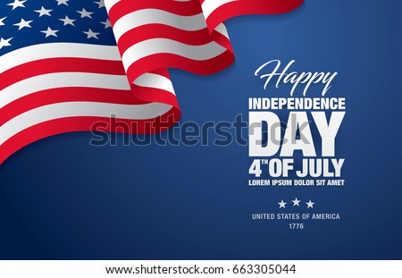 Independence day stock images royalty free images vectors fourth of july independence day vector illustration spiritdancerdesigns Gallery