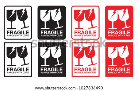 handle with care sticker pdf