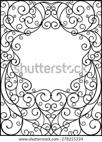 frame - stock vector