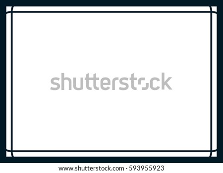 simple frame border. Wonderful Frame Frame Border Line Page Vector Simple Banner With Simple Border 0