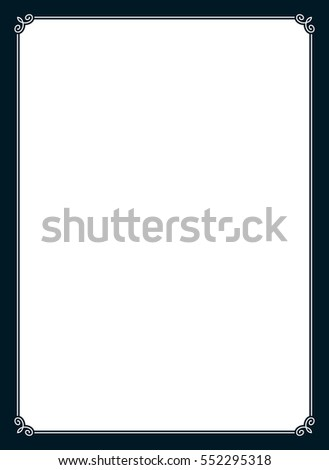 Page Border Stock Images Royalty Free Images Vectors Shutterstock