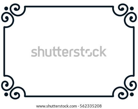 simple border stock images royaltyfree images amp vectors