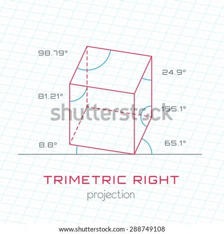 square pyramid box templates stock vector 45129739 shutterstock