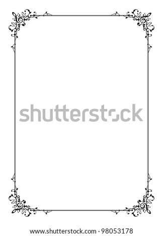frame of music - Music Picture Frame