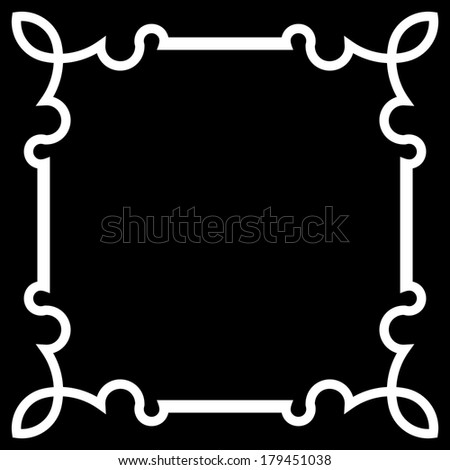 Frame Vector Square Tile
