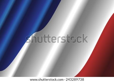France flag - stock vector