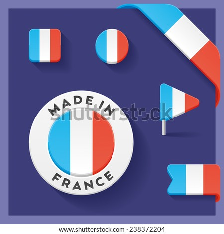 France Made Symbol Collection