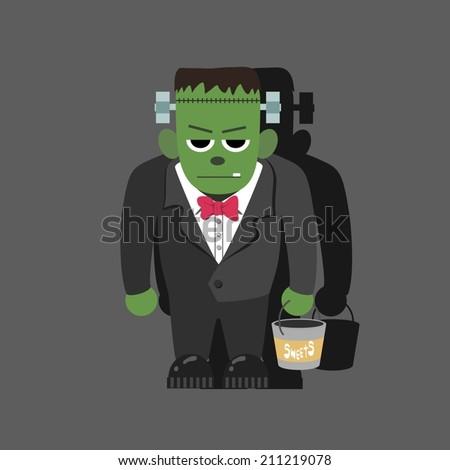 Frankenstein  - stock vector