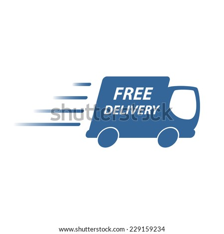 Free delivery icon - stock vector