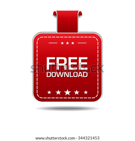 Free Download Red Vector Icon Design