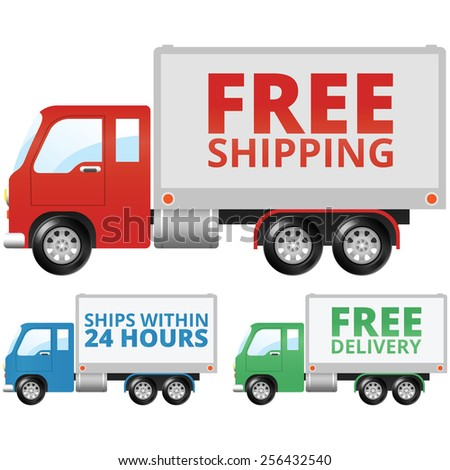 Free Shipping and Free Delivery Truck
