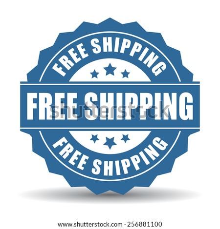 Free shipping icon - stock vector