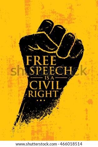 Civil Rights Movement Graphic Design