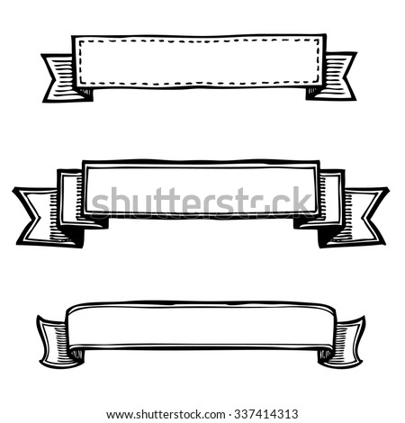 Doodle Banner Stock Images, Royalty-Free Images & Vectors ...