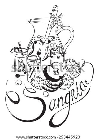 Sangria Glass Stock Images Royalty Free Images Amp Vectors