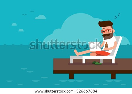 Freelance - stock vector