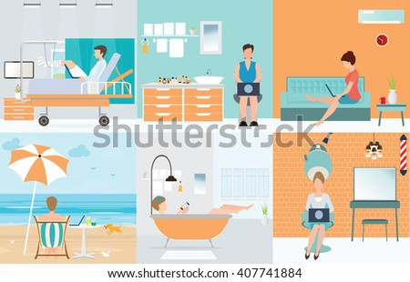 Self Employed Stock Photos Royalty Free Images Vectors Shutterstock