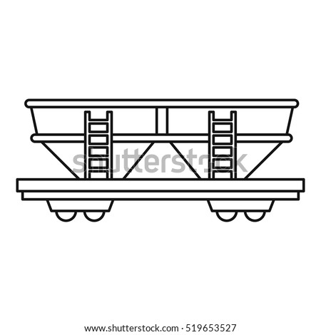 railroad freight cars coloring pages - photo#6