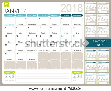 monthly calendar 2018 template - Toreto.co