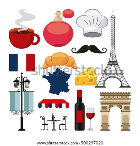 Resultado de imagem para símbolos da cultura francesa