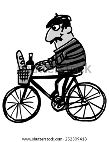French Man - stock vector