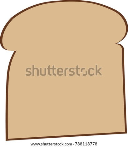 Fresh bread icon