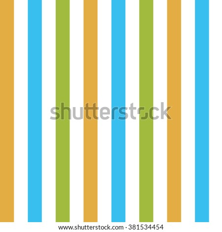 Fresh coloured stripes, seamless pattern, vector