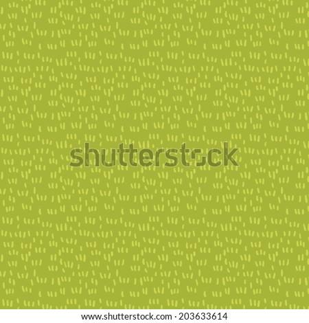 Fresh grass seamless vector pattern - stock vector