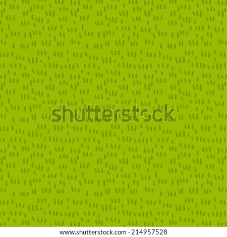 Fresh grass seamless vector pattern - stock vector