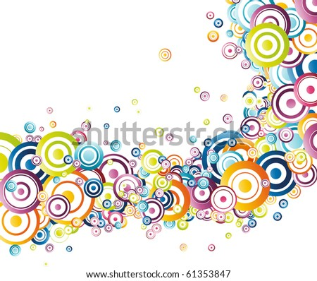 Fresh rainbow wave. Vector illustration - stock vector